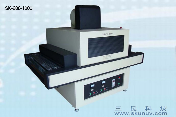 木地板,平版塑材,MDF板,厨柜等UV光油固化用UV机